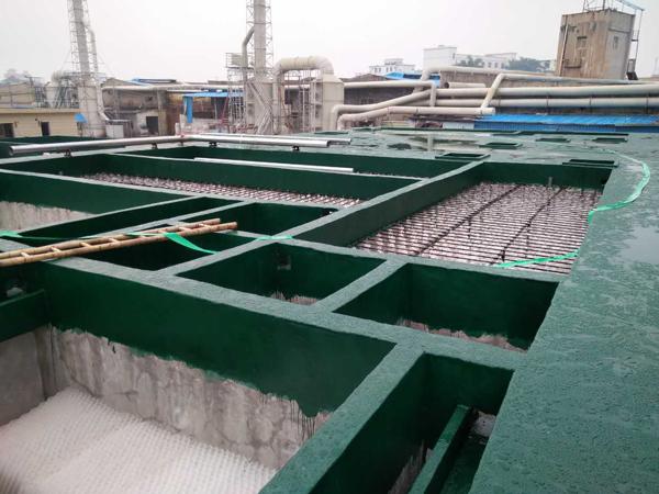印染废水处理工艺流程,印染