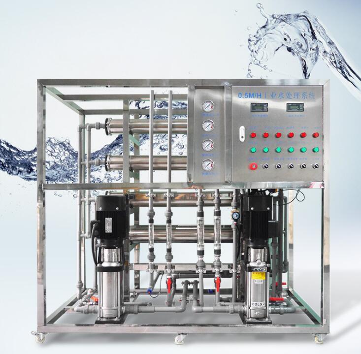 0.5吨双级反渗透水处理设备