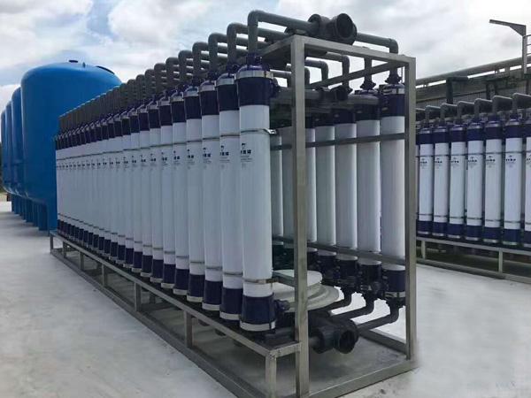 小区中水回用处理设备,50吨